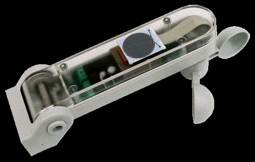 Tende Per Esterni Per Pioggia : Centrale con anemometro sensore sole e pioggia integrati per