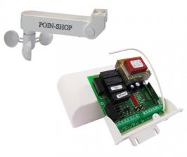 Sensore Vento Per Tende Da Sole.Kit Automazione N 2 Tende Da Sole Con Anemometro