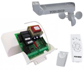 Kit Anemometro Per Tende Da Sole.Kit Automazione N 2 Tende Da Sole Con Anemometro Sensore